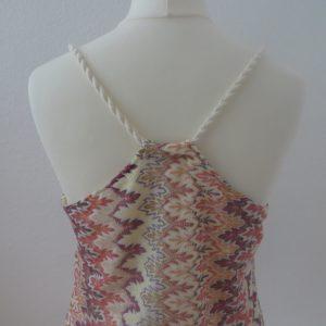 Burda Spaghetti Träger Kleid Modell 113 5-16 Rückenteil